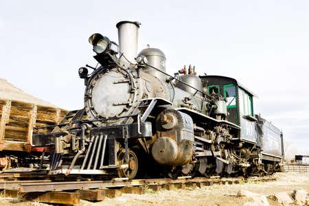 stem locomotive in Colorado Railroad Museum, USA Stock Photo - 9015672