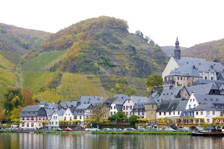moseltal: Beilstein, Rheinland Pfalz, Germany Stock Photo