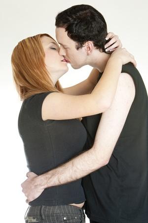 kissing couple Stock Photo - 9018295