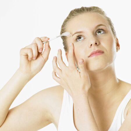 woman''s make up Stock Photo - 9018152