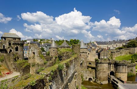 Fougeres, Brittany, France Stock Photo