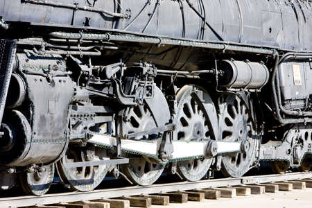 detail of steam locomotive, Kingman, Arizona, USA Stock Photo - 9089398