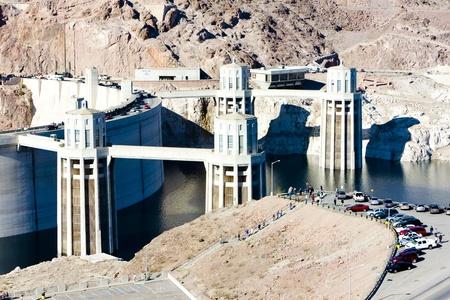 hydroelectricity: Hoover Dam, Arizona-Nevada, USA