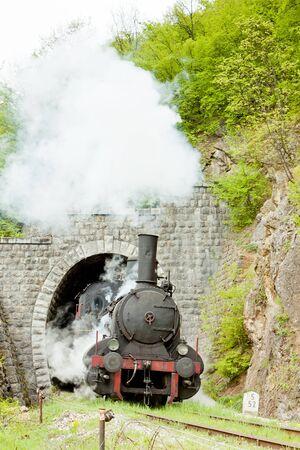 steam locomotive (126.014), Resavica, Serbia Stock Photo - 9089487