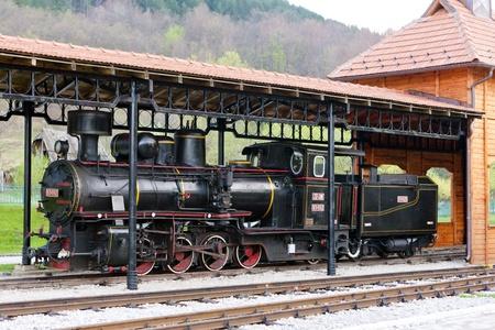 former yugoslavia: steam locomotive, Sargan, Serbia