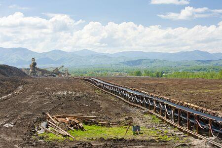 hercegovina: industry in Tuzla region, Bosnia and Hercegovina Stock Photo