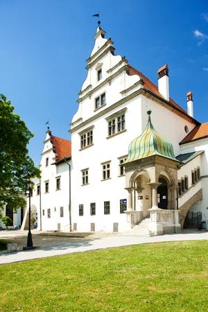 gildhall: Square of Master Paul, Levoca, Slovakia