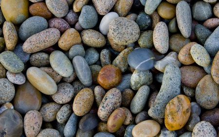many colored: stones Stock Photo