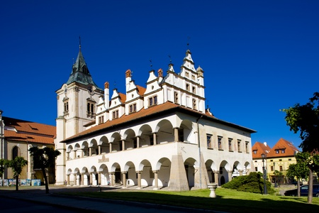 guildhalls: former town hall, Square of Master Paul, Levoca, Slovakia