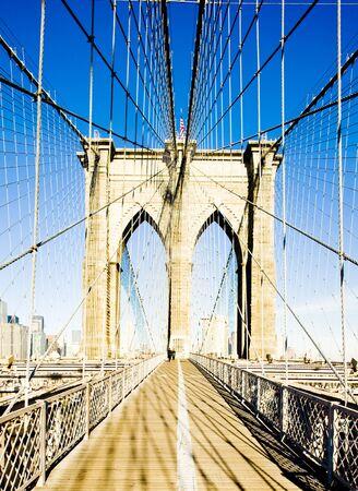 brooklyn: Brooklyn Bridge, Manhattan, New York City, USA