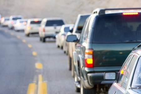 southwest usa: traffic jam, Arizona, USA