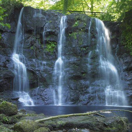 Glenariff Waterfalls, County Antrim, Northern Ireland Stock Photo - 9417347