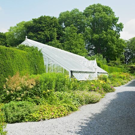 conservatories: greenhouse, Birr Castle Gardens, County Offaly, Ireland