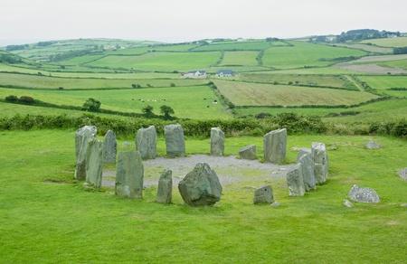 eire: Drombeg Stone Circle, County Cork, Ireland