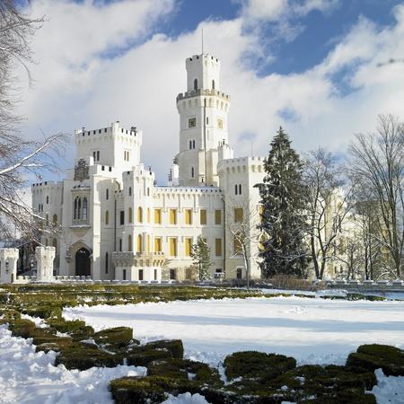 nad': Hluboka nad Vltavou chateau, Czech Republic