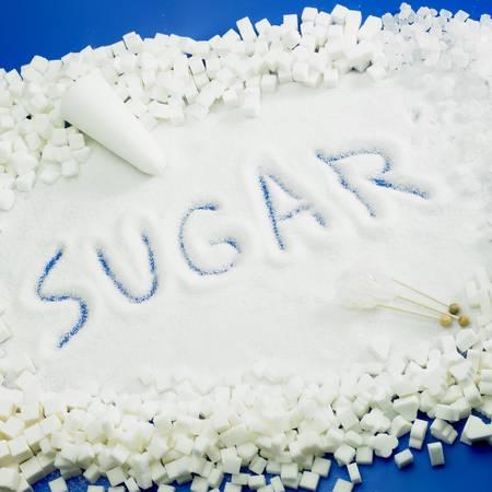 sugar still life Stock Photo - 9417105