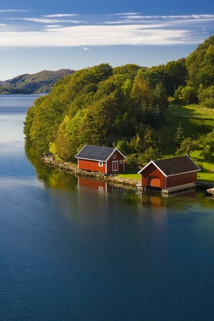 fiord: landscape of Southern Norway