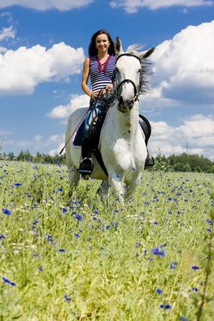 free riding: equitazione a cavallo
