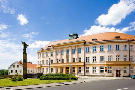 gildhalls: town hall, Nove Mesto nad Metuji, Czech Republic