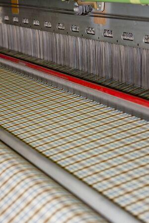 mechanization: textile machine