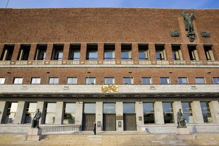 gildhalls: City Hall (Radhuset), Oslo, Norway