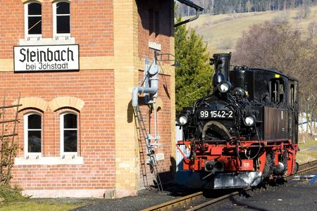 steam locomotive, Steinbach - J�hstadt, Germany Stock Photo - 9676648