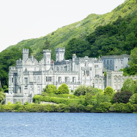 friaries: Kylemore Abbey, County Galway, Ireland