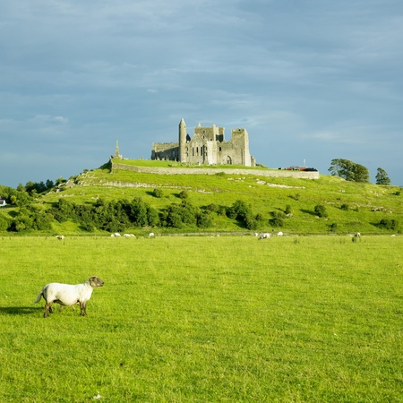 Rock of Cashel, County Tipperary, Ireland Stock Photo