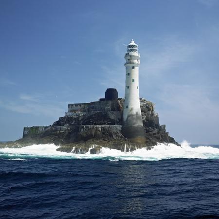 republic of ireland: lighthouse, Fastnet Rock, County Cork, Ireland Stock Photo