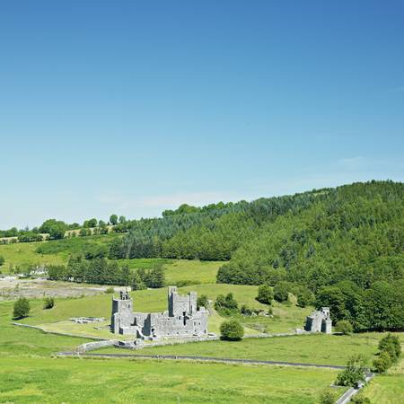friaries: Fore Priory, County Westmeath, Ireland