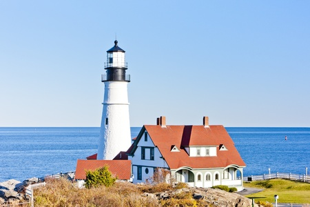 portland: Portland Head Lighthouse, Maine, USA
