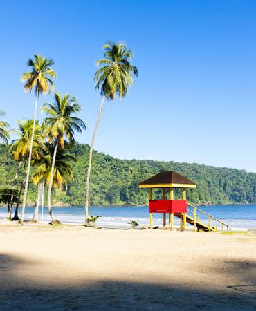 beach hut: cabin on the beach, Maracas Bay, Trinidad