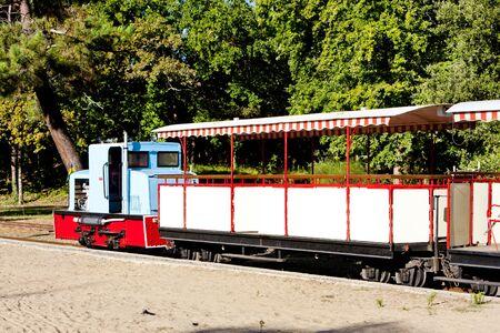 narrowgauge: narrow gauge railway, St-Troyan-Les-Bains, Poitou-Charentes, France