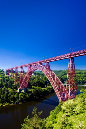 viaduct: Garabit Viaduct, Cantal D�partement, Auvergne, France