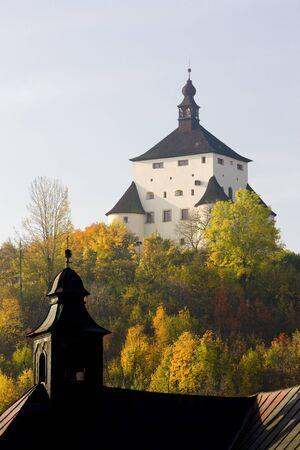 falltime: New Castle, Banska Stiavnica, Slovakia