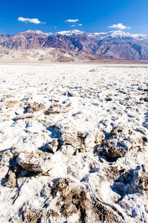 quietness: Devil�s Golf Course, Death Valley National Park, California, USA Stock Photo
