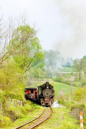 narrow gauge railway, Banovici, Bosnia and Hercegovina Stock Photo - 10421084