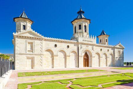 gironde department: Chateau Cos DEstournel, Bordeaux Region, France