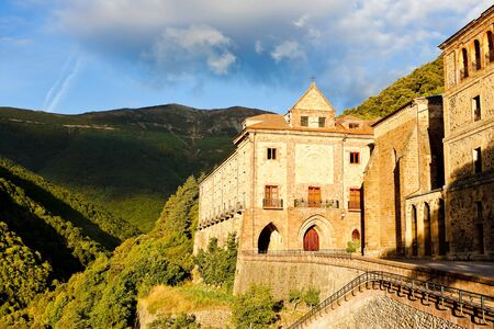 Nuestra Senora de Valvanera Monastery, La Rioja, Spain Stock Photo