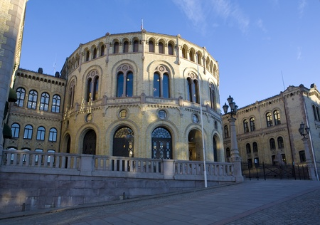 world locations: Stortinget (Parliament), Oslo, Norway