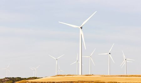 wind turbines, Castile and Leon, Spain Stock Photo - 10463051