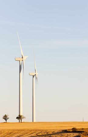 wind turbines, Castile and Leon, Spain Stock Photo - 10463067