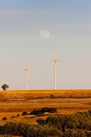 wind turbines, Castile and Leon, Spain Stock Photo - 10463270