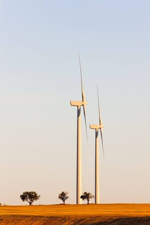 wind turbines, Castile and Leon, Spain Stock Photo - 10463065