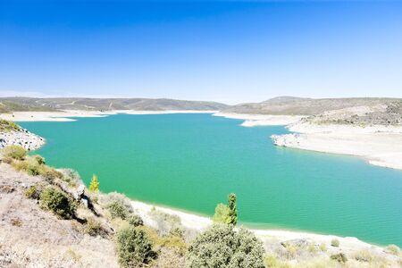 castile leon: Villalcampo dam, Castile and Leon, Spain