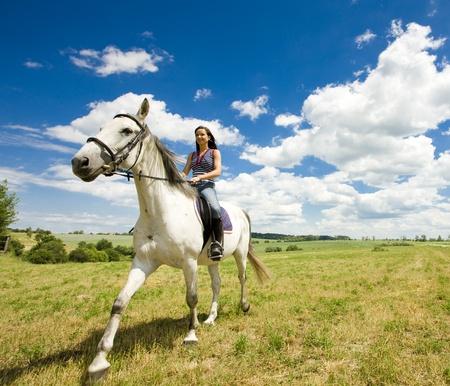 free riding: equestre a cavallo