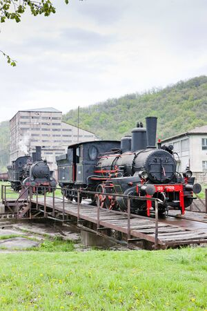 steam locomotives, Resavica, Serbia Stock Photo - 10546483