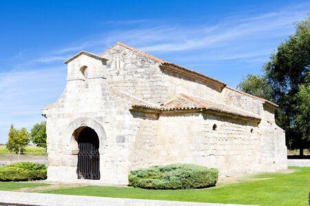 palencia province: Church of San Juan Bautista, Banos de Cerrato, Castile and Leon, Spain