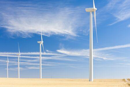 wind turbines, Castile and Leon, Spain Stock Photo - 10546430