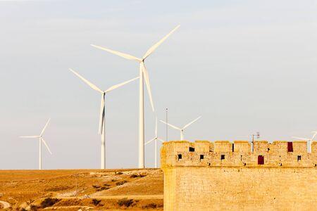 wind turbines, Ampudia, Castile and Leon, Spain Stock Photo - 10546730